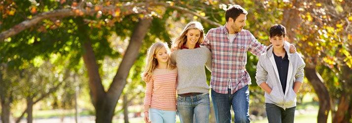 Chiropractic SE Calgary AB Fall Family